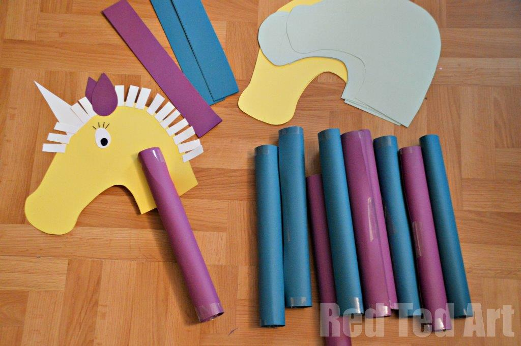 Animal Paper Crafts From A To Z 20 Easy Crafts To Try With Your Kids